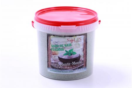 MENTA illatú kénes-jódos fürdősó 5kg