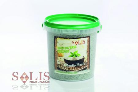 Sare de baie sulfoiodurată MENTĂ 1,5kg
