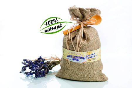 Sare de baie cu plante medicinale LAVANDĂ 600g