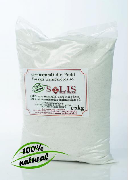 Sare naturală din Praid 5kg