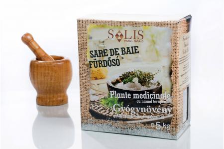Gyógynövényes fürdősó gyógyhatású iszappal 5kg